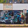 Superheroes Mural - Austin, Texas