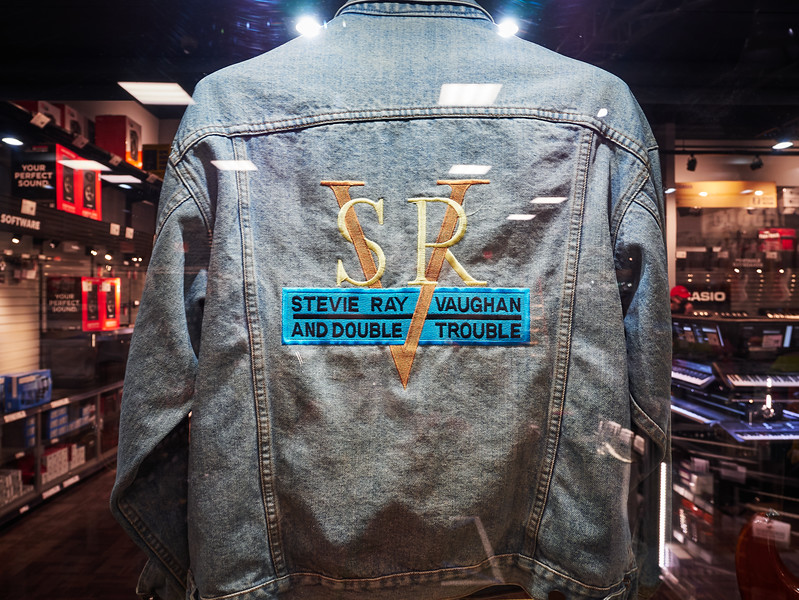 Stevie Ray Vaughan Jacket, Guitar Center - Austin, Texas
