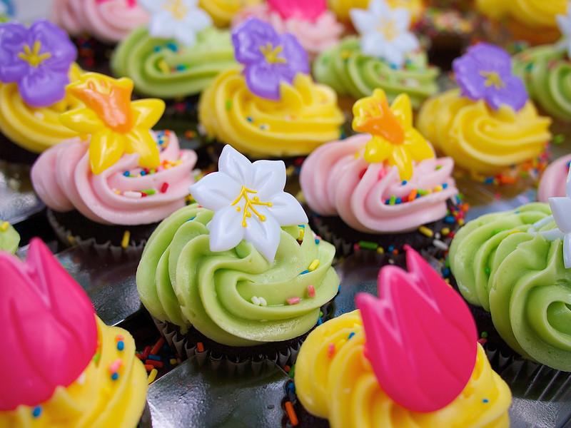 Easter Cupcakes - Austin, Texas