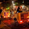 Pedicabs on 6th Street - Austin, Texas