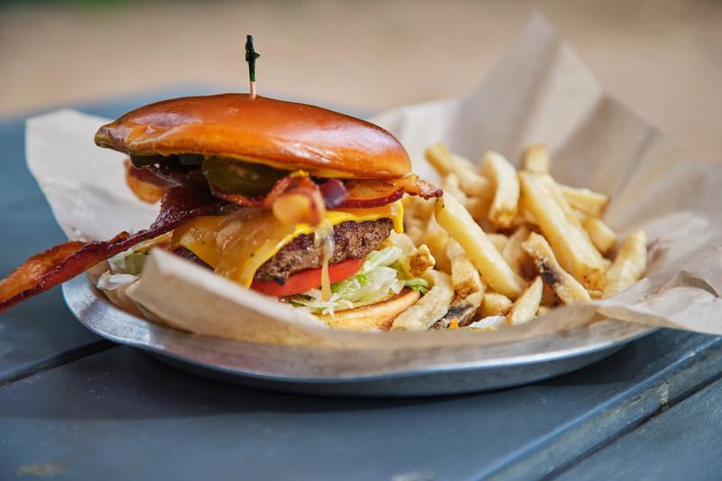 Cheeseburger, Waterloo Ice House - Austin, Texas