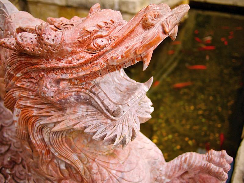 Stone Dragon, Chinatown Center - Austin, Texas