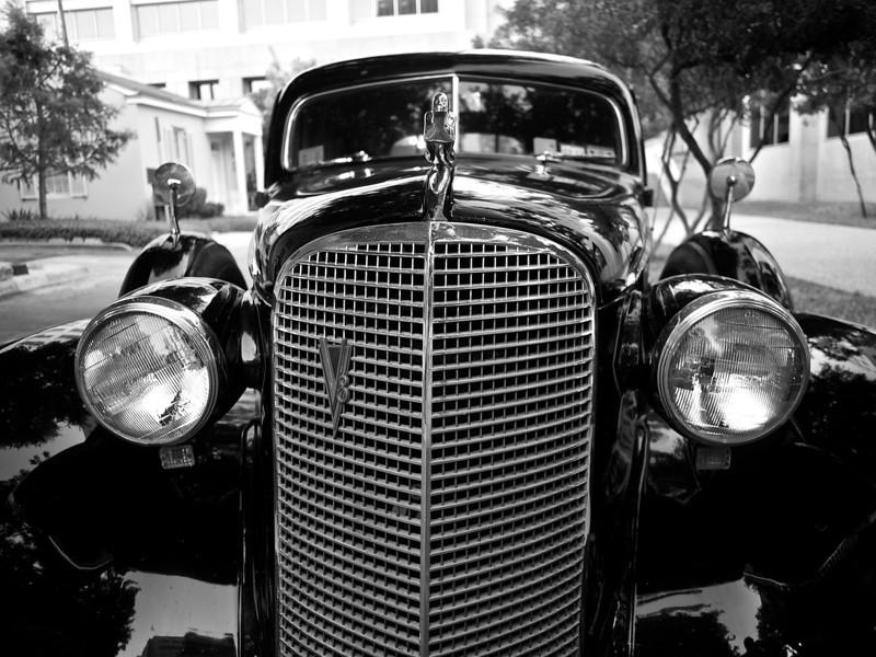 Expressive Face, 1937 Cadillac Fleetwood - Austin, Texas