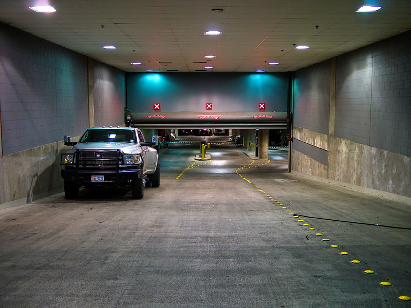 No Entry, Downtown Parking Garage - Austin, Texas
