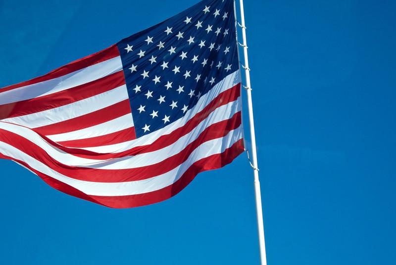 Giant U.S. Flag - Austin, Texas