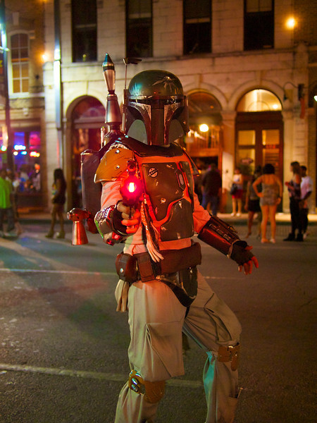 Boba Fett, 6th Street - Austin, Texas