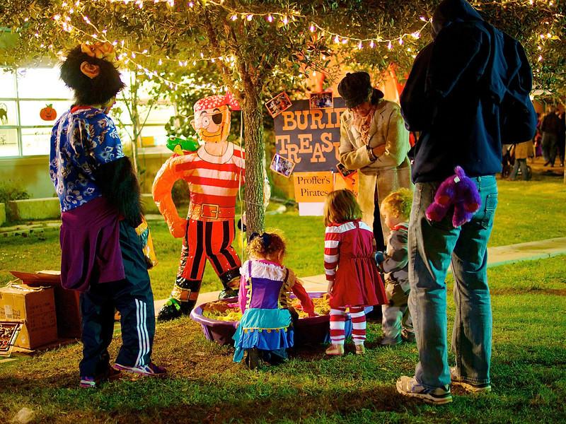 Kids at a Carnival, School Fund Raiser - Austin, Texas