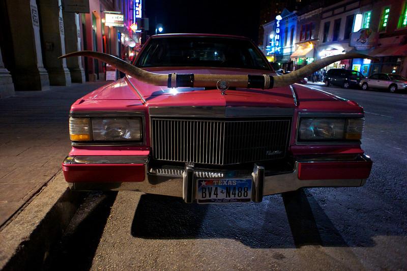 Pink Cadillac, 6th Street - Austin, Texas