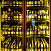 Golden Rows of Beer, Flying Saucer - Austin, Texas