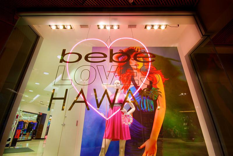 bebe LOVES HAWAII - Honolulu, Hawaii