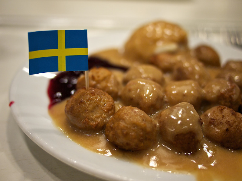 Swedish Meatballs, Ikea - Round Rock, Texas
