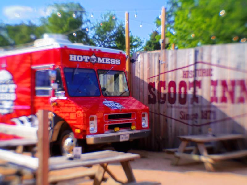 Hot Mess Truck, Scoot Inn - Austin, Texas