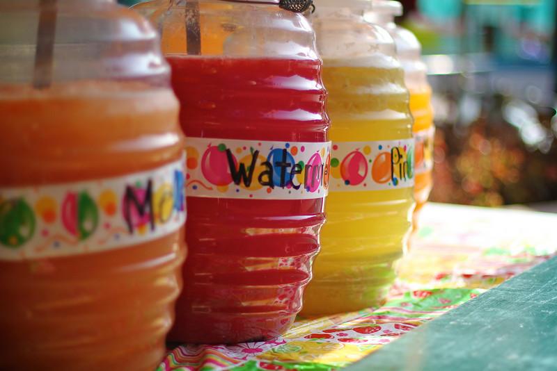 Agua Fresca at El Mercado - San Antonio, Texas