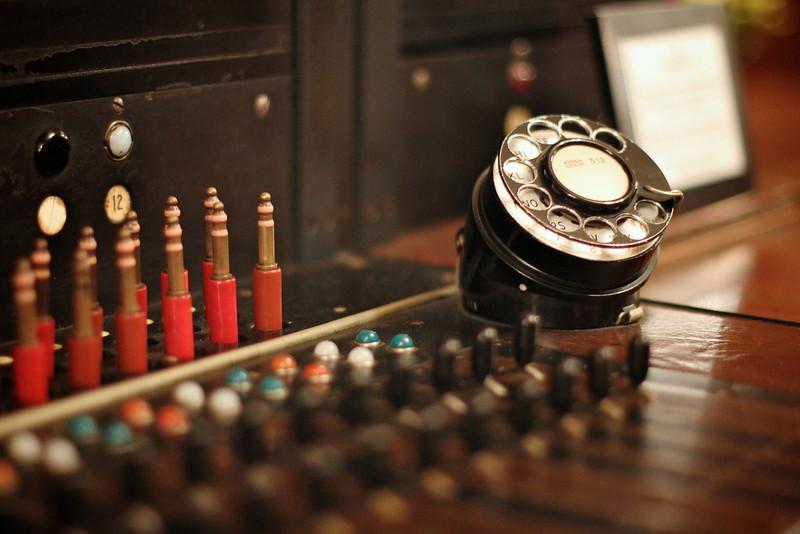 Old Switchboard, Gunther Hotel - San Antonio, Texas