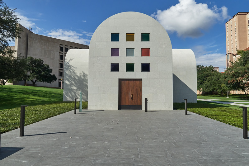 Ellsworth Kelly Chapel - Austin, Texas