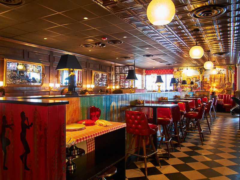 Dinning Room, Home Slice - Austin, Texas (Olympus)