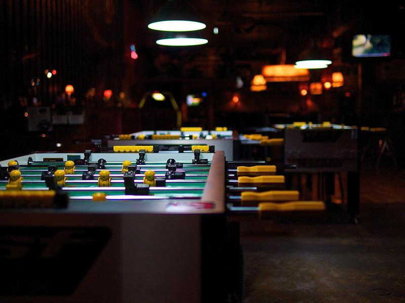 Foosball Table, Buffalo Billiards - Austin, Texas