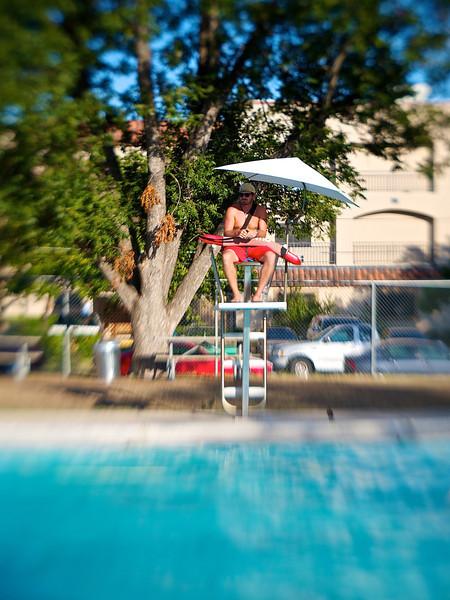 Life Guard #3, Ramsey Pool - Austin, Texas