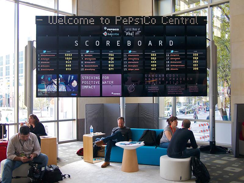 Pepsico Scoreboard, SXSW Interactive - Austin, Texas