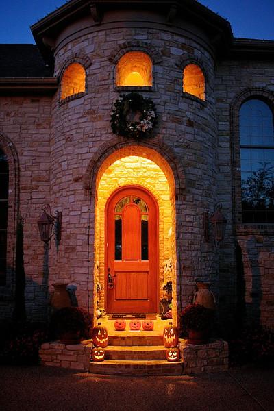 Halloween in the Suburbs - Austin, Texas
