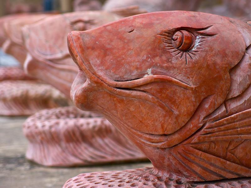 Marble Fish, Chinatown Center - Austin, Texas