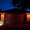 Minimalist Halloween, Suburban Tract Home - Austin, Texas