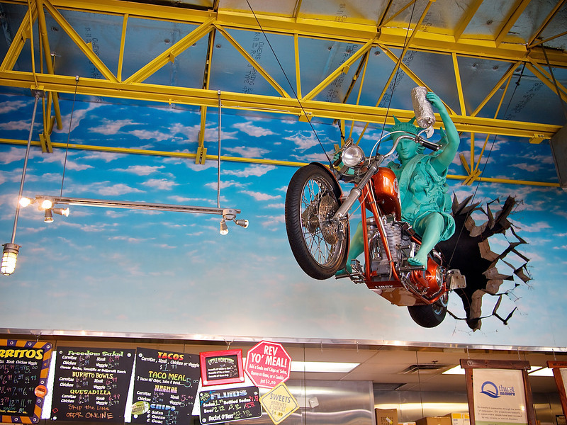 Pop Art, Freebirds World Burrito - Austin, Texas