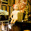 Doll in Library, Uncommon Objects - Austin, Texas