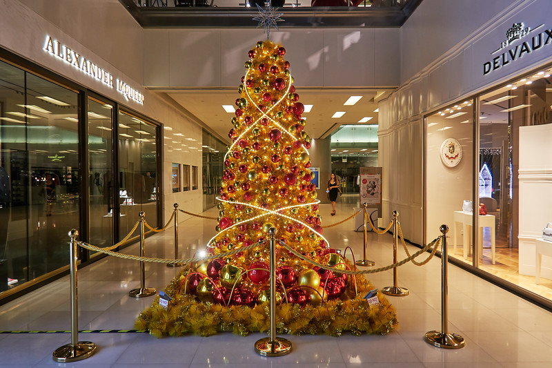 Christmas Tree, Scotts Square - Singapore