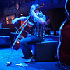 Blue Cello Closeup, Bat Bar - Austin, Texas