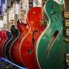 Shiny Colorful Guitars, Guitar Center - Austin, Texas