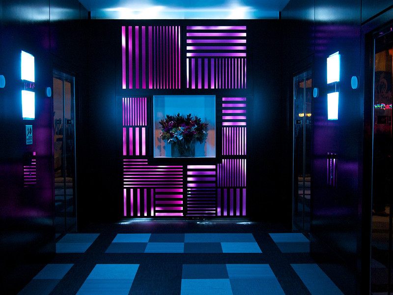 W Hotel, Elevators - San Francisco, California