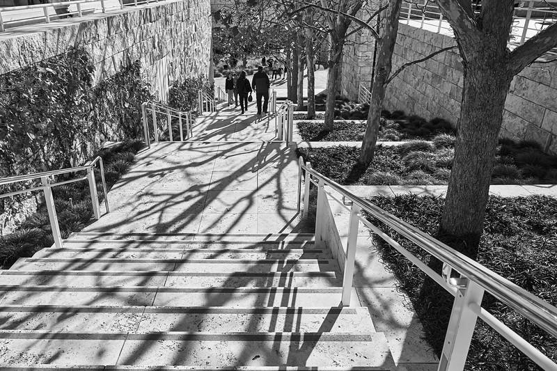 Shadows as Design, Getty Center - Los Angeles, California