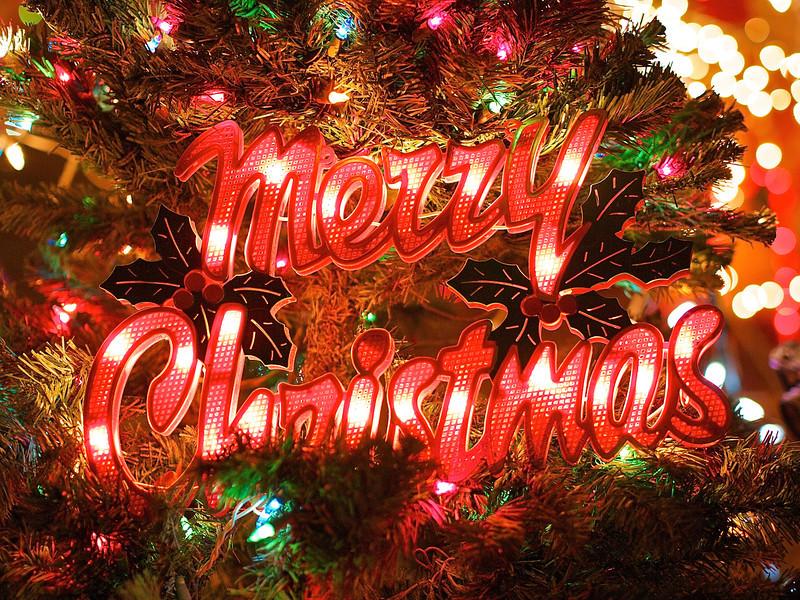 Merry Christmas, 37th Street - Austin, Texas