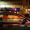 Sedan Reflections, 6th Street - Austin, Texas