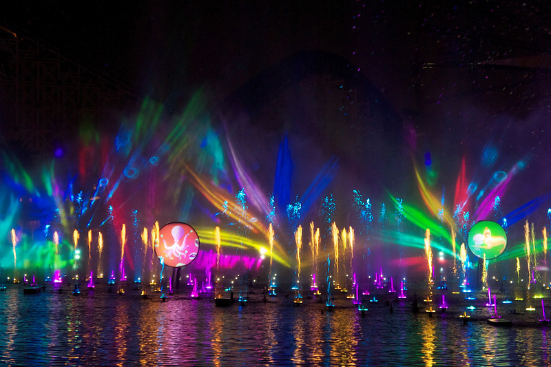 World of Color Show, Disney's California Adventure - Anaheim, California