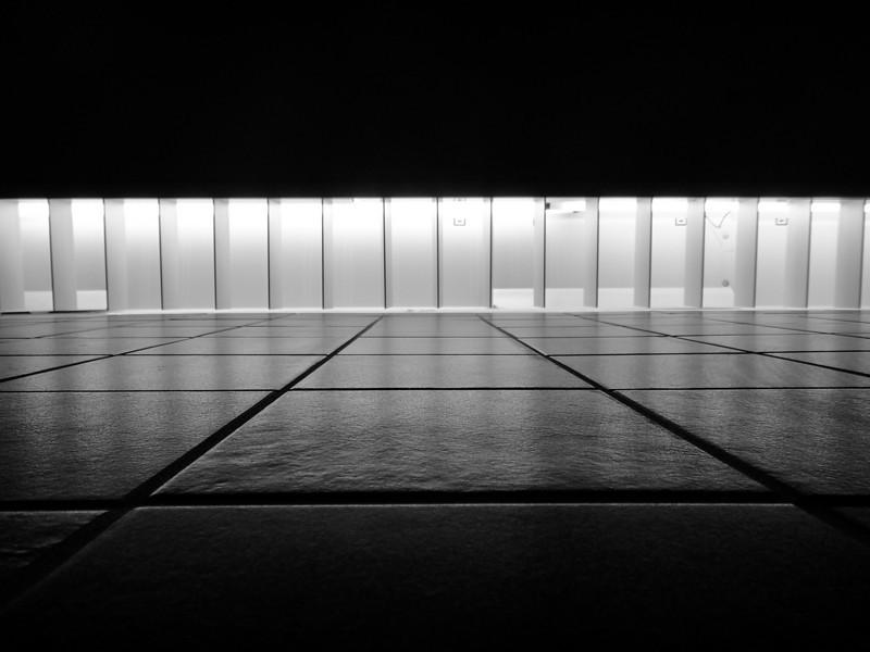 A Wall of Light and Shadows - Austin, Texas
