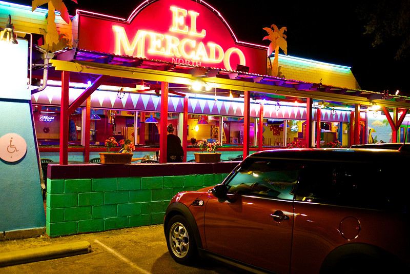 El Mercado Color and Glow - Austin, Texas