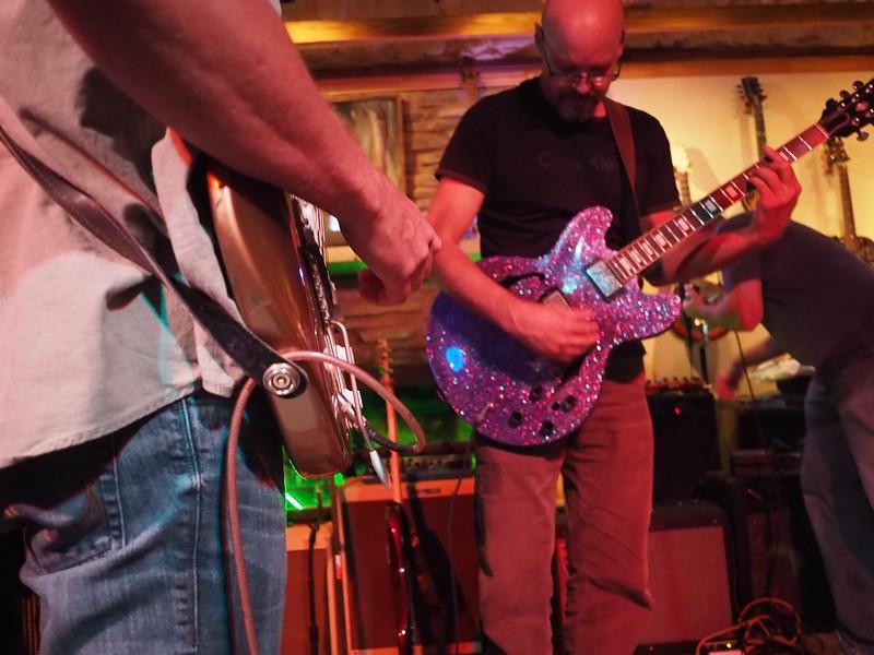 Guitar Closeup - Austin, Texas