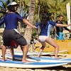 Tourist Surfers - Waikiki Beach, Honolulu, Hawaii