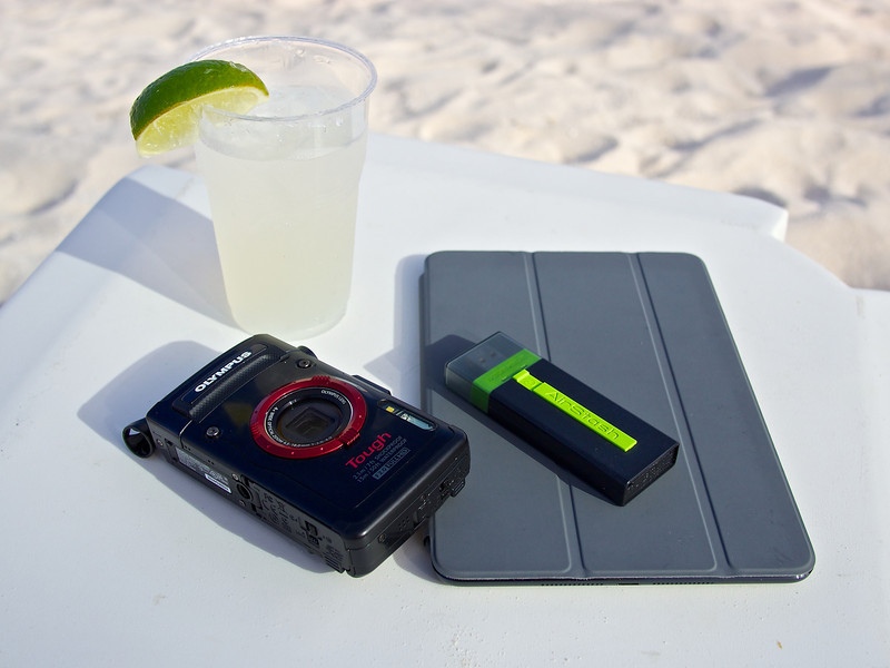 Lightweight Photography Kit, On the Beach - Cancun, Mexico