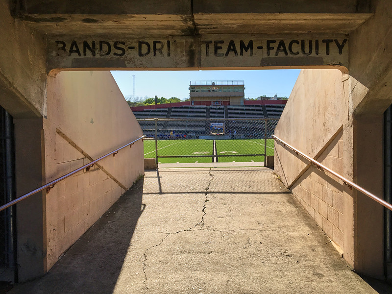 Entering the Stands, House Park - Austin, Texas