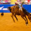 Bucking and Blur #3, Rodeo Austin - Austin, Texas