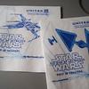 Star Wars Napkins - United Airlines