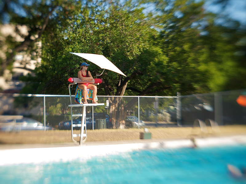 Life Guard #4, Ramsey Pool - Austin, Texas