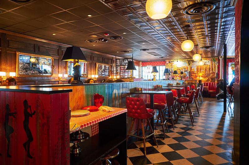 Dinning Room, Home Slice - Austin, Texas (Fuji)