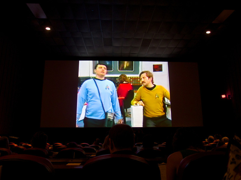 Faux Star Trek, Alamo Draft House - Austin, Texas
