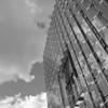 Austin Convention Center, Facade with Clouds - Austin, Texas