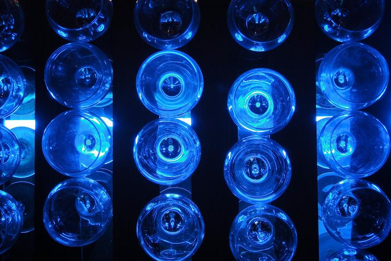 Blue Bar Glasses - Austin, Texas