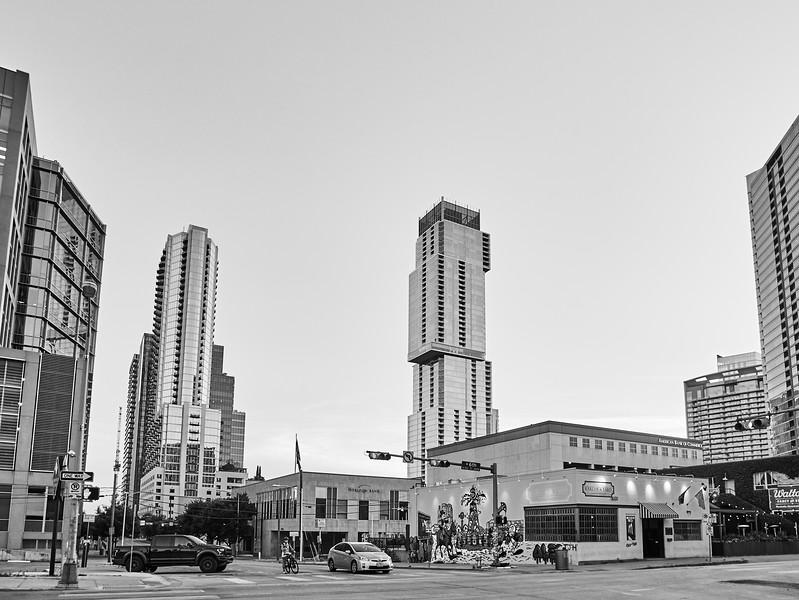 Towers from West 6th - Austin, Texas